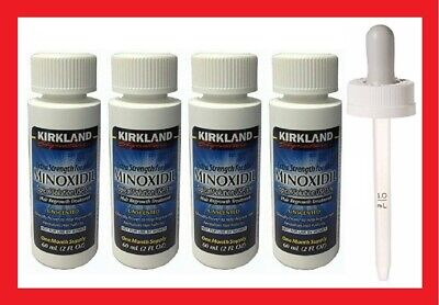 Kirkland Minoxidil 5% Extra Strength Men Hair Regrowth Solution 4 Months Supply
