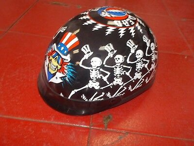 grateful dead helmet   - size large