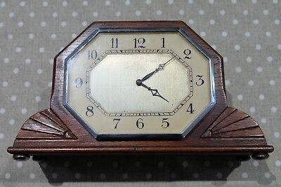 Smiths Art Deco Mantel Clock
