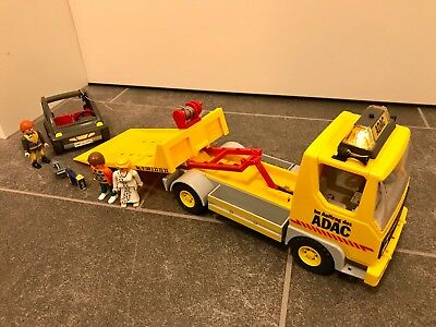 **Playmobil 4079 ADAC Transporter mit Smart**