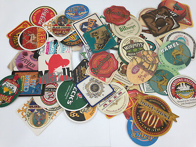 Lot Of 65+ Beer Coasters Bar Brewania -Pacific Northwest Seattle Collection