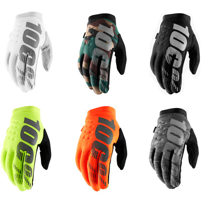 100% Brisker Cold Weather MX Motocross Offroad Gloves