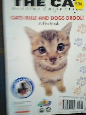 A Small Enjoyable Paper-Back Book The Cats Rule & Dogs Drool! A Flip Book...
