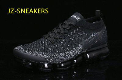 2018Nike Air Vapormax  Flyknit  Men's - Running  Movement Fitness City Trai BLAC