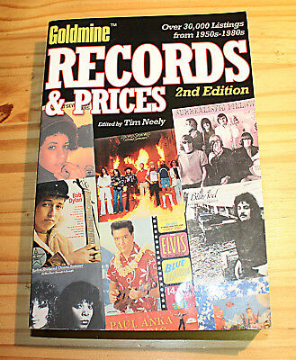 GOLDMINE RECORDS and PRICES 2nd Edition