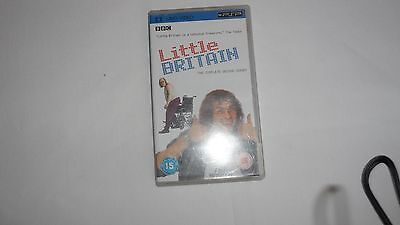 LITTLE BRITAIN THE COMPLETE SECOND SERIES PSP 167 mins VGC FREEPOST