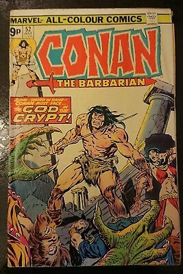 Conan The Barbarian: The God in the Crypt (52 July 02498)