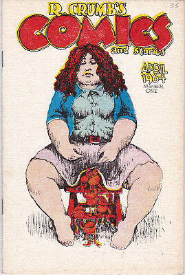 R. Crumbs Comics and Stories First Edition