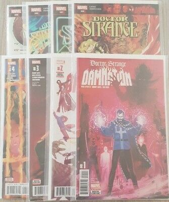 Dr Strange: Damnation #1,2,3,4 + #386,387,388 & 389 1st prints (Full Arc) **NM**