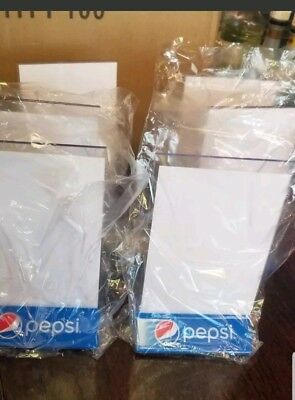 New Pepsi-Cola's 6 units acrylic menu board table tents! Or Buy 10 & FREE SHIP!