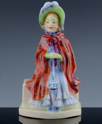 Rare Royal Doulton Little Lady Make Believe Hn 1870 Only Made 1938-49. Ex. Cond.