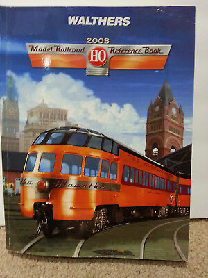 Walthers 2008 HO Model Railroad Reference Catalog  1,000 pages of inspiration