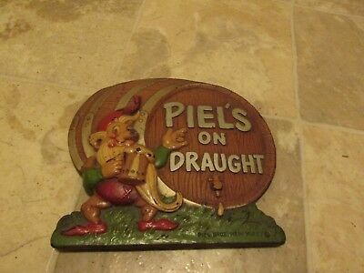 Piels Beer Composition Sign 1940S