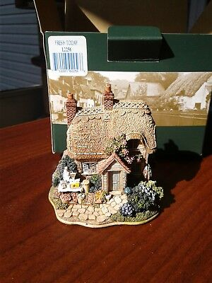 1999 Lilliput Lane Cottages Collector's Club – Fresh Today, L2256