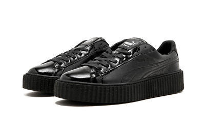 save off 31779 f52e2 PUMA RIHANA CREEPER Cracked Leather Gender Mens New with box and Fenty bag