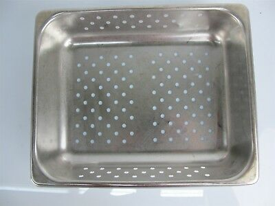Polar Ware P12102 Stainless Steel Instrument Tray 12.5x10.25x2.5 Inches 4qt