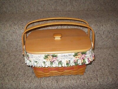Longaberger Mothers Day Basket With Lid