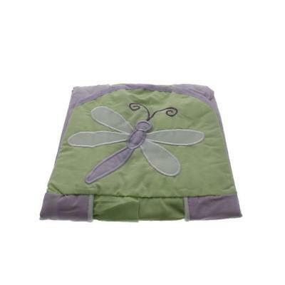 Tiddliwinks Fireflies Green Embroidered Baby Girl Diaper Stacker BHFO 6982