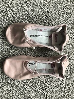 bcf88be0fbd0 BLOCH PINK BUNNYHOP Ballet Shoes Slippers Leather Brand New Multiple ...