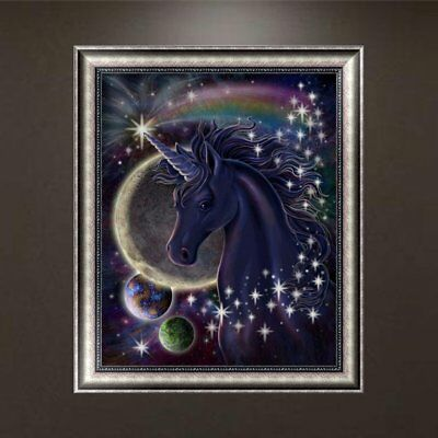 Horse Pattern 5D Diamond Painting DIY Embroidery Cross Stitch Home Decor 5 ES