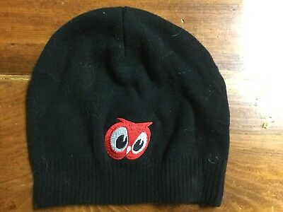 Red Owl Grocery Store Winter Knit Stretch Hat Vintage Advertising