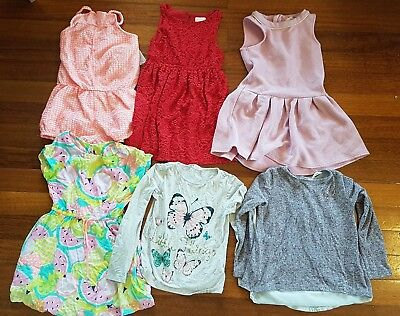 Girls mixed clothing bundle size 7 Pre-Owned