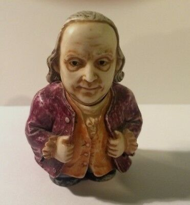 Pot Belly Benjamin Franklin- Harmony Ball Vintage Figure President USA