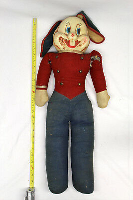 Vintage 1950s era? Bugs Bunny Stuffed Animal Bellhop Warner Bros Looney Tunes