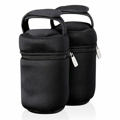 Tommee Tippee Closer To Nature Insulated Single Bottle Bag - 2 Count