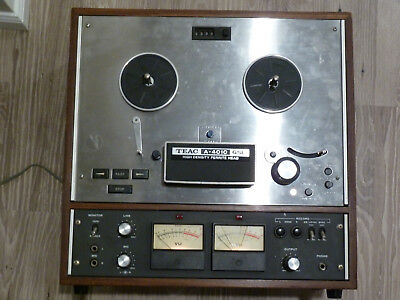 Vintage TEAC A-4010 GSL Stereo Tapecorder Player Reel to Reel Ferrite Head VTG