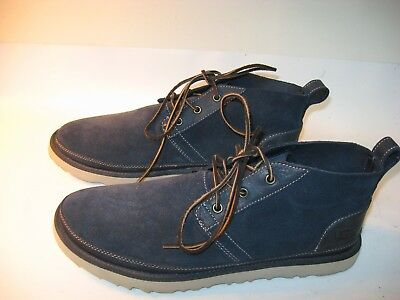 cf465bce31d UGG NEUMEL UNLINED Leather Chukka Men's Boots (Size 12) Pumice ...