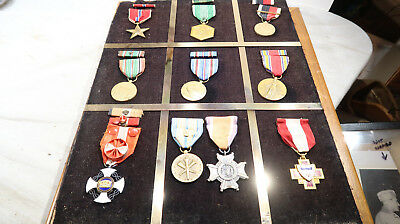 WWII US Army NAMED GROUPING Medal Medical Surgeon Order of the Crown Italy
