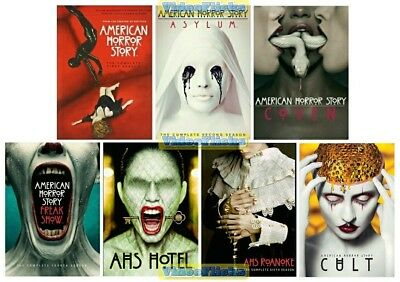 American Horror Story The Complete Series Season 1 2 3 4 5 6 & 7 DVD Set New 1-7