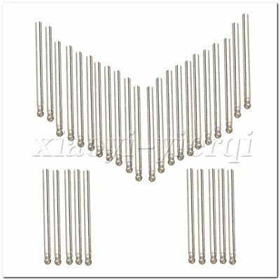 30 Pieces Diamond Glass Burr Bits Drill 3mm Sphere Point Carving Rotary Tool