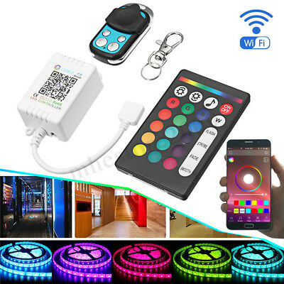 Bluetooth APP LED 30m Remote Controller for 3528 5050 RGB/RGBW Music Strip