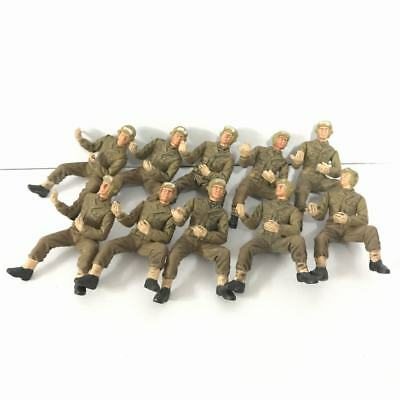 Lot 10x 21st Century Toys German Soldier The Ultimate 1:18 WWII Military figures