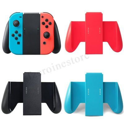 For Nintendo Switch Joy-con Controller Charging Station Handle Holder Charger !