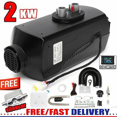 2KW Air Diesel Heater Planar 2000W 12V For Trucks Motor-Homes Boats Bus CAN UK