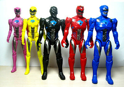 "5pcs Power Rangers Jason Kimberly Play Set  Movie 6"" Action Figure Toy Xmas Gift"