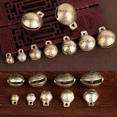 10/20PCS Cute DIY Brass Small Jingle Bell For Christmas Holiday Pendant Decor