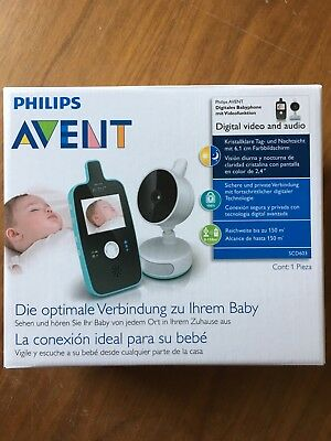 Philips AVENT digitales Babyphone mit Videofunktion
