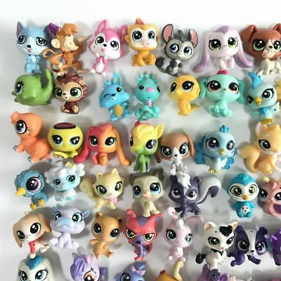 Lot5pcs Random LPS Hasbro Littlest Pet Shop Animal Figure Cute MINI Collection