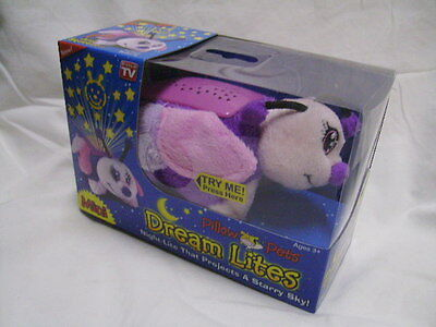 Dream Lites MINI Pillow Pets Fluttery Butterfly Night Light Projects Starry Sky