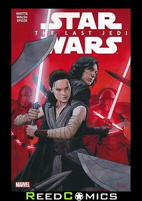 STAR WARS THE LAST JEDI ADAPTATION GRAPHIC NOVEL Paperback Collect 6 Part Series