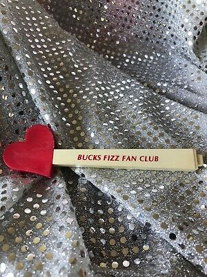 Bucks Fizz Fan Club Pen Rare