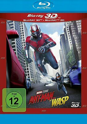 Ant-Man and the Wasp - Blu-ray 3D + 2D # 2-BLU-RAY-NEU