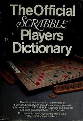 NEW - The Official Scrabble Players Dictionary