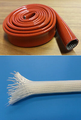 Fiber Glass Hose Natural Uncoated or with Silicone Coated
