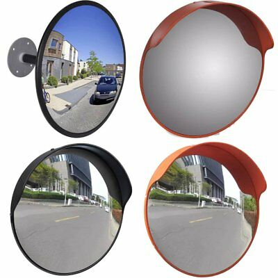 45/60cm Outdoor Road Traffic Convex Mirror Wide Angle Driveway Safety Security