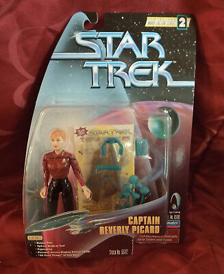 STAR TREK The next Generation CAPTAIN BEVERLY PICARD TNG Playmates NEU OVP X-Mas
